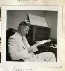 Capt. Locke, 1935, by Ruel P (Ruel Pardee) Tolman.