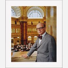 Daniel J. Boorstin, 1977, by Bernard Schwartz, National Portrait Gallery, Gift of the Bernard L. Sch