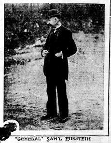 Poundmaster Samuel Einstein.