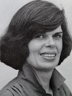 Claudia Brush Kidwell, 1979, by Richard Hofmeisler, Record Unit 371, Box 3.