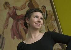 Nora Lockshin, Paper Conservator, Smithsonian Institution Archives.