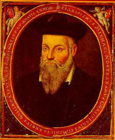 The Portrait of Michel de Nostredame (Nostradamus).