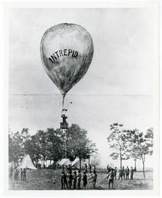 Thaddeus Lowe's Balloon Ascent