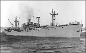The Liberty Ship SS Joseph Henry, c. 1945, by Unknown, photographic print, courtesy of William F. Hu