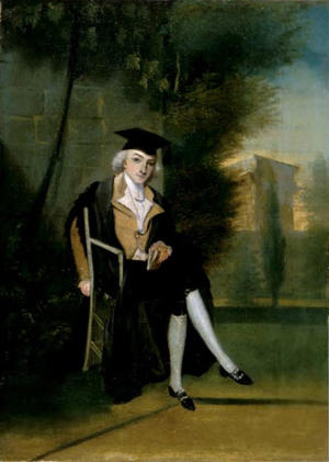James Smithson as an Oxford Student by James Roberts, 1786