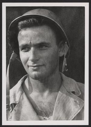 Victor Lundy during World War II. Courtesy of the Library of Congress.