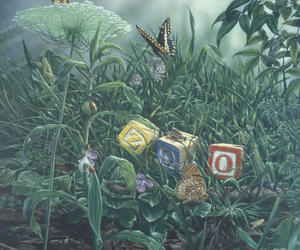 O. Orkin Insect Zoo mural, Accession 11-281 - National Museum of Natural History, Office of Public A