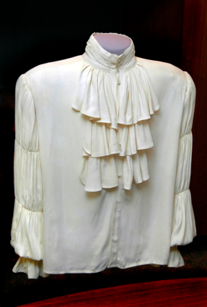 "Jerry Seinfield's ""puffy shirt,"" Courtesy of the National Museum of American History."