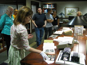 Tour of Russell E. Train Africana Collection, Smithsonian Institution Libraries,