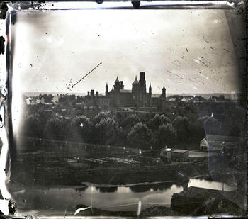 The Smithsonian Castle, c. 1857-1858