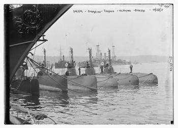 Salem [i.e. Salmon], Grayling, Tarpon, Octopus, and Bonita, October 28, 1911, by Bain News Service,