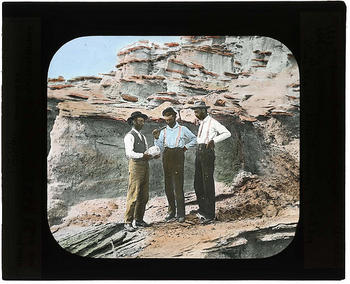Barbour, Wortman, and Gidley on paleontological expeditions, 1900-1935.
