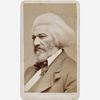 Frederick Douglass, 1876, by George Kendall Warren, photograph, National Portrait Gallery, Object nu
