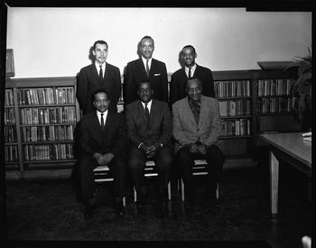 Veterans High School Center Groups, Scurlock Studio (Washington D.C.), 1963