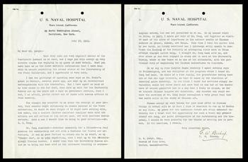 Carl W. Bishop correspondence to John Ellerton Lodge regarding Kuang-zung Tung, July 17, 1921, SIA A