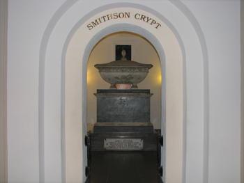 James Smithson Crypt, 2012. Courtesy of Mitch Toda.