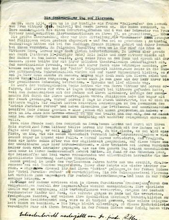 Dr. Ritter's typescript.