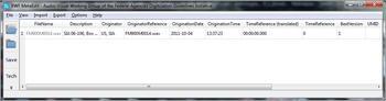 BWF MetaEdit allows metadata entry with audio files.