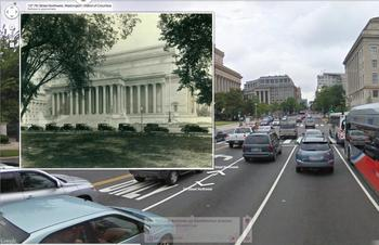 Screenshot of a US National Archives image on Historypin, Courtesy of Historypin