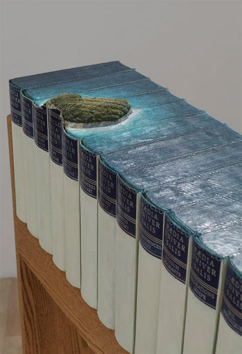 Guy Laramee at Rebound: Dissections and Excavations in Book Art
