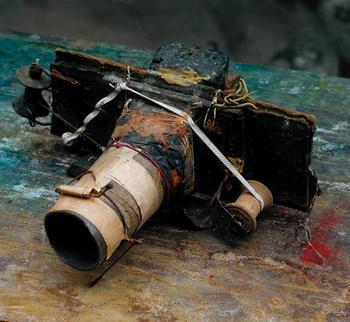 Miroslav Tichý's Camera No.1, © Roman Buxbaum, Courtesy of the ICP.