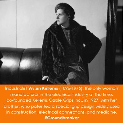 Industrialist Vivien Kellems (1896-1975)
