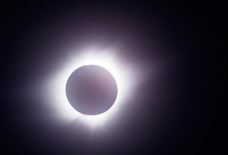 Solar eclipse, Panama, July 11, 1991.