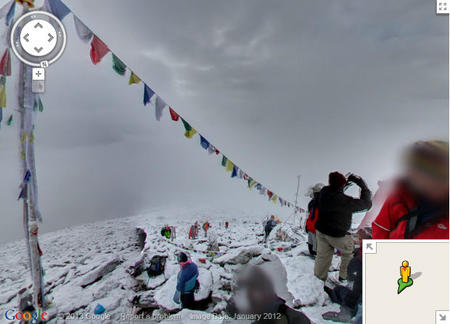 Kala Pattar, Nepal, on Google Maps