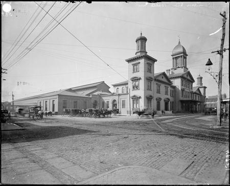 Camden Station, Baltimore, Maryland.