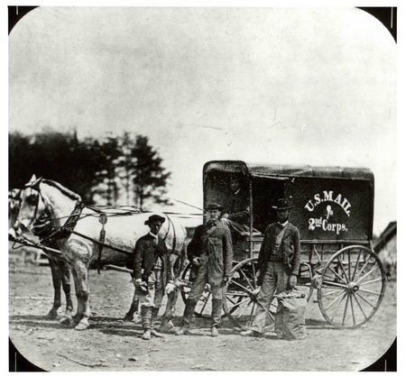 Union Army Mail Wagon