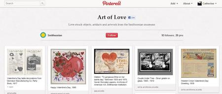 The Smithsonian's Art of Love board on Pinterest.