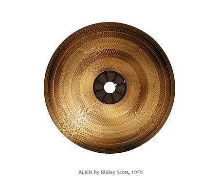 "ALIEN by Ridley Scott, 1979. ""The Unseen Seen"" project by Reiner Riedler."