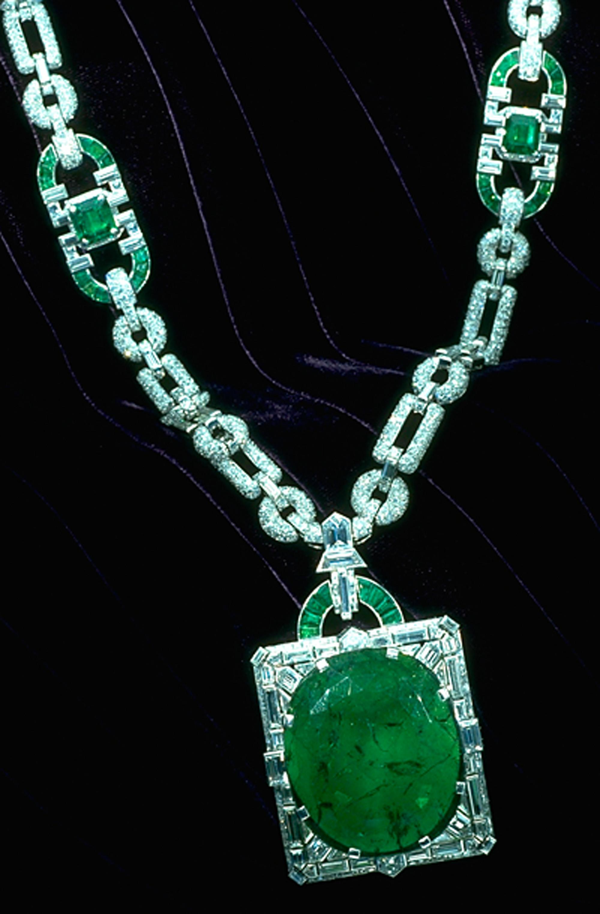 Aug 27 Mackay Emerald Necklace