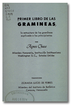 Image of title page of Chase's book, dark text on light background