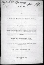 Black text on white background, title page of Darlington's pamphlet