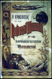 Book cover featuring drawings of natural and American Indian specimens from the western United State