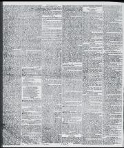 Black and white newspaper text