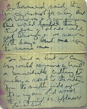 Image of a page of Schmitt's handwritten diary