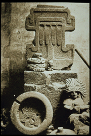 Aztec, Zapotec and Teotihuacan Carved Sculpture