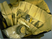 A photo of the tools Wetmore used for collection his specimens