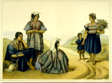 Four women and a child