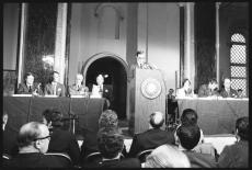 Conference convened for 1972 US publication of the Club of Rome's groundbreaking report, The Limits