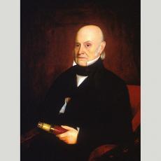 Former President John Quincy Adams, 1844, by William Hudson, Jr., National Portrait Gallery, NPG.99.
