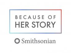Logo for the Smithsonian American Women's History Initiative.