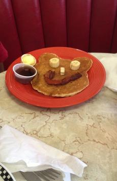 A road trip is not complete without a stop at a roadside diner. Breakfast is served all day at the G