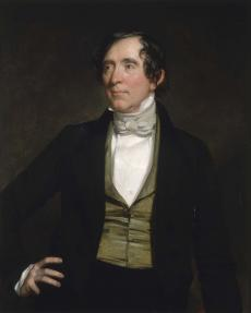 Senator William Campbell Preston, 1842, by George Peter Alexander Healy, oil on canvas, Smithsonian