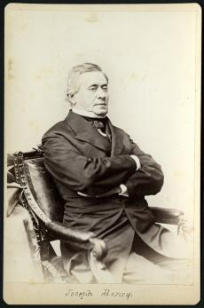 Joseph Henry, circa 1865, by Mathew Brady. Record Unit 95 - Photograph Collection, 1850s- , Smithson