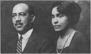 Victor and Constance E.H. Daniel, ca. 1931.