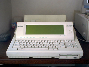 Do You Remember Word Processors?, by Brizzle Born and Bred, Flickr.