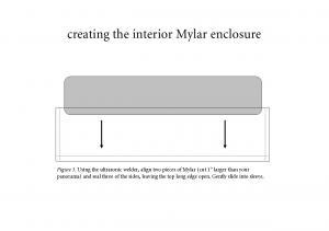 Diagram of interior enclosure.